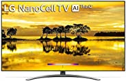 LG 164 cm (65 inches) 4K UHD Smart Nano-cell TV 65SM9000PTA (Black) (2019 Model)
