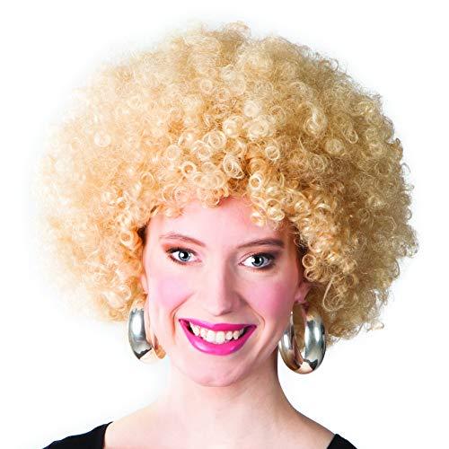 enenperücke Afro, blond, One Size ()