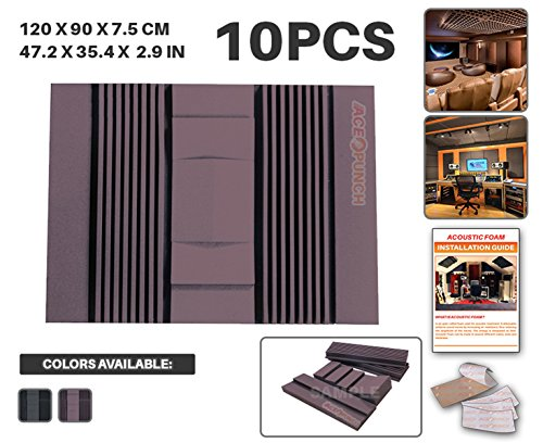 ace-punch-10-pezzi-set-parete-schiuma-acustica-pannello-isolamento-acustico-diffusore-acustici-paret