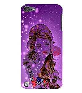 Oh My God What A Girl 3D Hard Polycarbonate Designer Back Case Cover for Apple iPod Touch 5