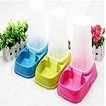 Xinghengchen Automatic Pet Dog Cat Water Dispenser Dish Bowl Feeder Random Color 9
