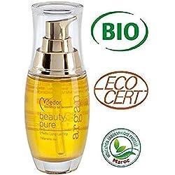 Medor Olio di Argan Puro 100% , Certificato Biologico fin dall'origine per il trattamento di Viso, Corpo e Capelli. Beauty Pure 50 ml