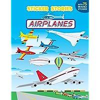 Airplanes (Sticker Stories Book)