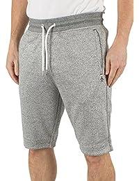 Original Penguin Homme Marled Logo Sweat Shorts, Bleu
