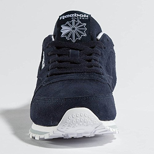 sports shoes 9ee12 10aee ... Reebok Classic Leather Mh, Chaussures De Sport Basses Indigo Pour Femme  ...