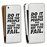 DeinDesign Apple iPhone 4s Étui Étui à Rabat Étui magnétique Do it for The...