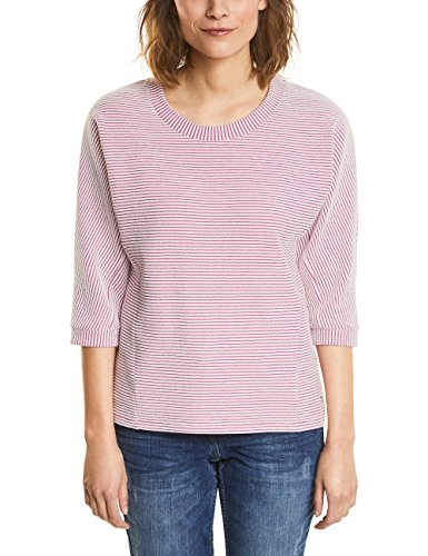 Cecil Damen 300576 Sweatshirt, Magic pink, Small Pink Jumper