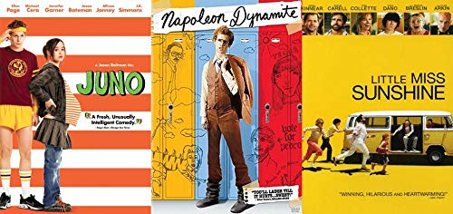 Dark Coming of Age Comedies: JUNO + Napoleon Dynamite + Little Miss Sunshine Triple Feature DVD Bundle