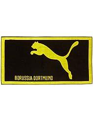 PUMA Handtuch BVB Towel - Toalla , color negro (black-cyber yellow), talla one size