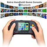 Lychee Handheld Game Console,Bluetooth 2.4G Online Combat Wireless Connection,Built-in 788 Classic Game,2.5Inch LCD Screen,HD Rocker Game Console for Kids Adults