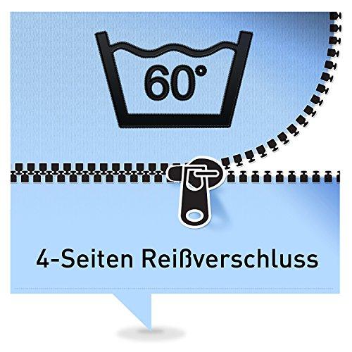Ravensberger 7 -Zonen Latexmatratze ÖKO-TEX LATEXCO Latex H2 RG 60 (45-80 kg) Baumwoll-DT 90x200 -