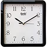 #5: Ajanta 9 inches Wall Clock for Home/Offces/Bedroom/Living Room/Kitchen (Step Movement, Black)