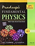 Pradeep's A Text Book of Physics with Value Based Questions - Class XI (Set of 2 Volumes)