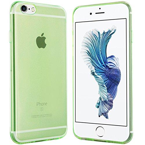 iPhone 6S Hülle in Schwarz - Silikonhülle Case Schutzhülle Tasche für Apple iPhone 6S (4,7 Zoll) Grün