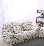 FORCHEER Sofabezug elastische Sofahusse Sesselbezug Stretchhusse Sofaüberwurf Couch Husse mit 4 verschienden Größe ( 3-Sitzer, 190-230cm, Farbe #16 )