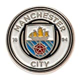 Manchester Man City Crest Pin Badge Official Football Club Fan Merchandise Gift
