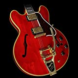 GIBSON LIMITED EDITIONS ES-355 SIXTIES CHERRY BIGSBY VOS 2016 + KOFFER