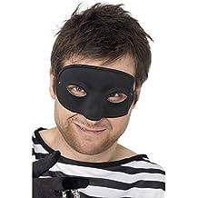 Antifaz de ladrón, negro