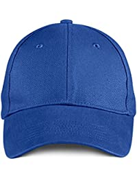 Anvil Anvil brushed twill cap Royal Blue