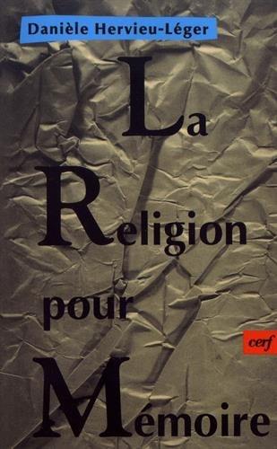 La Religion pour mémoire