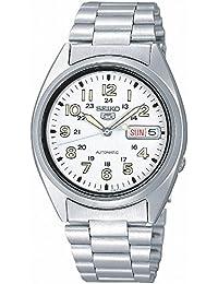 SEIKO SNX801K1 - Reloj de Caballero movimiento automático con brazalete metálico