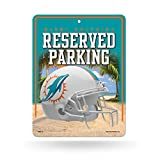 Rico Industries NFL Miami Dolphins Parking Sign Schild