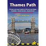 Thames Path: Trailblazer British Walking Guide: Practical Walking Guide from Thames Head to the Thames Barrier with 90 Trail Maps & 10 Town Plans (British Walking Guides) by Joel Newton (31-Mar-2015) Paperback