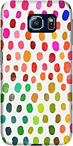 DailyObjects Fava Colour Beans Mobile Case For Samsung Galaxy S6