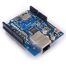 Ethernet Shield Kuman W5100 Micro SD für Arduino 2009 UNO Mega 1280 Mega 2560 Nano Duemilanove K15