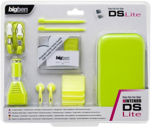 Nintendo DS lite - Travel Pack [Lemon - Travel Nintendo Ds Kit