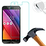 Lusee 2 x Pack Protezione Schermo Vetro temperato per ASUS Zenfone Selfie ZD551KL 5.5 Pollici Vetro Protettivo Salvaschermo e Film Protettiva Ultra-Duro Vetro 9H