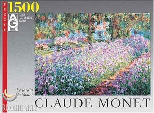 Editions Ricordi 2901N09676 - Monet, Il giardino, Puzzle da 1500 pezzi