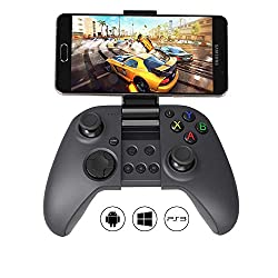 Multi-platform: MYGT C04 is a multi-platform gaming controller, designed to work well with Android smartphone / tablet / smart TV / TV box / Windows XP/7/8/10 (X-Input & Direct Input) / Sony PlayStation 3 / Samsung Gear VR and iOS devices (iCade ...