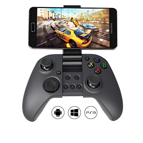 MYGT C04 Wireless Bluetooth Gamepad Controller for PC, PS3, Android Devices and Mobile Phones (Does not Support PUBG & Fortnite Games) Black