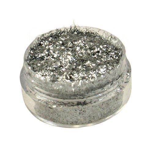 Diamond FX Polyester Glitter - Fibre Silver (5 GM)