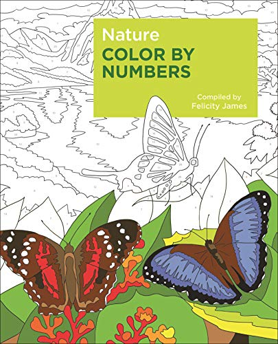 Nature Color by Numbers por Felicity James