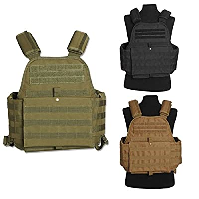 Mil-Tec Plate Carrier Molle Modular Military Style Vest