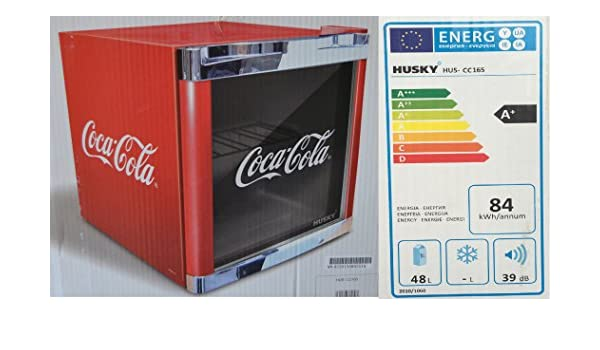 Mini Kühlschrank Höhe 40 Cm : Husky hus cc 165 coolcube flaschenkühlschrank coca cola a 51 cm
