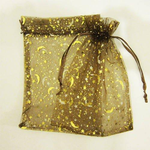 10-sacchetti-in-organza-grande-regalo-per-laminazione-moonstar-pattern-colore-oro-17-x-23-cm