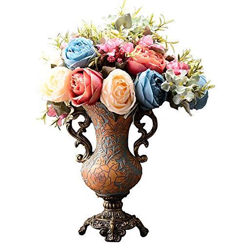 Doppelohr Vase Vintage Handgemacht Kunsthandwerk Zart Dekoration Zuhause Tabelle Mittelstücke Vase Zum Wohnzimmer Küche Büro