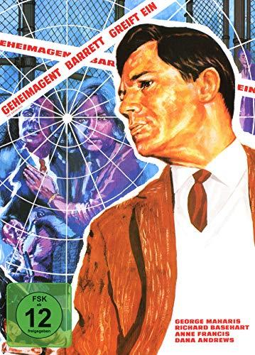 Geheimagent Barrett greift ein - Mediabook - Cover A - Phantastische Filmklassiker Ausgabe 4 (+ DVD) [Blu-ray]