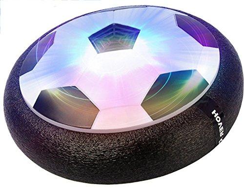 Brigamo 60719 - Hoverball schwebender Luftkissen indoor Fußball mit LED Beleuchtung und Möbelschutz thumbnail