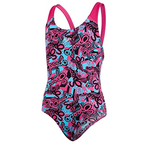 speedo-astro-pop-maillot-de-bain-fille-multicolore-rose-bleu-fr-16-ans-taille-fabricant-34