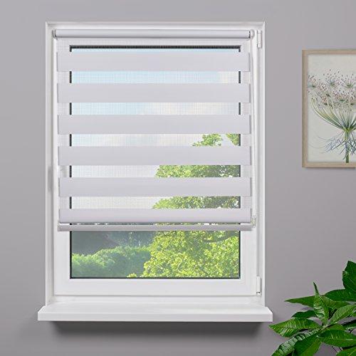 Fensterdecor Mini Duo-Rollo Doppelrollo inkl. Klemmträger