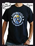 SIMPSONS - Chief Wiggum navy Tshirt - Size M for sale  Delivered anywhere in Ireland