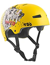 TSG Evolution Niño Youth Graphic Diseño – Casco semi-integral, verano, infantil, color rat, tamaño XXS/XS