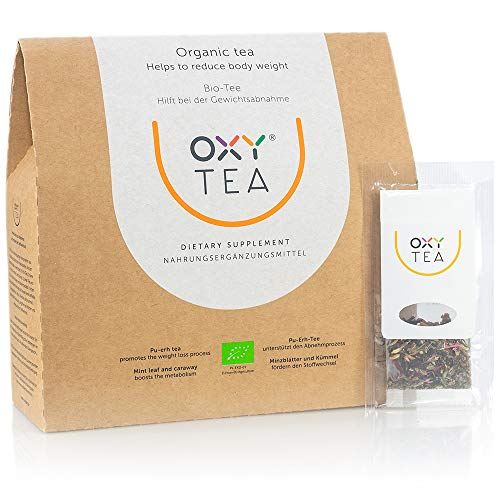 OXY TEA - the organic detox Tea (30 teabags) for weight loss 🔥 cleaning the body. 100% Natural with no added aromas and additives. Beauty weight loss tea. Slimming Organic Tea. Natural weight loss detox Tea. For use with Diets. Ingredients that have a healthy impact on the body: Pu-erh Tea, Green Tea, Cumin, Mint, Fennel. Advanced Weight Loss Formula. Dietary Supplement.
