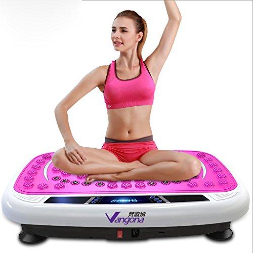 Vibrationsplatte Sport Vibrationsplattform Training Körper Fitness, vollautomatische 0-99 Datei einstellbar
