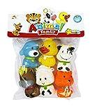 Shopaholic Animal Family bath Tub Squeeze Toys - HMC-1040
