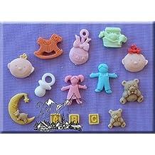 Moldes tartas infantiles - Moldes silicona amazon ...